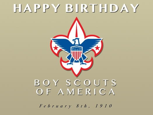 Happy Birthday Boy Scouts